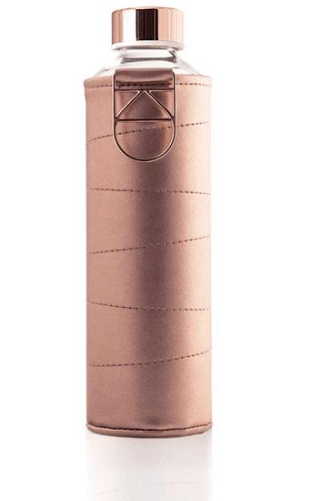 Equa steklenička, steklena, Mismatch Bronze, 750 ml