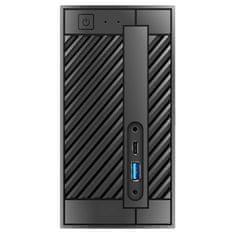 ASRock DeskMini 310 Barebone mini računalnik, črn