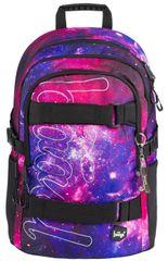 BAAGL Školský batoh Skate Galaxy
