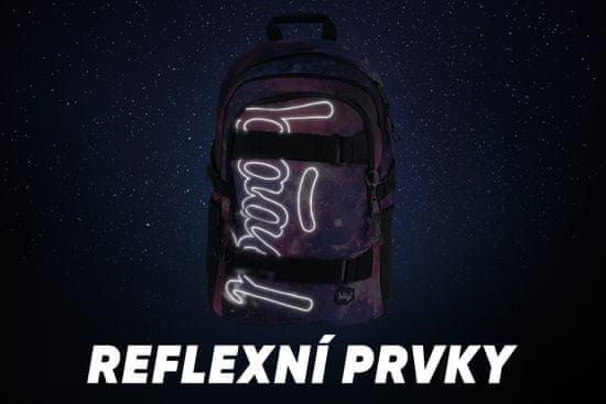 BAAGL Školní batoh Skate Galaxy