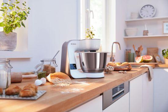 Bosch kuhinjski robot, MUM5 scale, 1000 W, bijeli, MUM5XW20