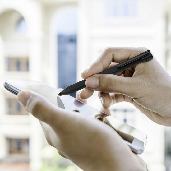 FIXED Aktivní stylus Pin pro dotykové displeje, černý FIXS-PIN-BK