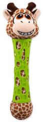 BeFUN igrača za psa TPR + plišasta žirafa, 39 cm