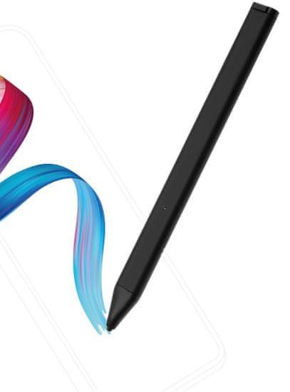FIXED Aktivní stylus Pin pro dotykové displeje s pouzdrem, černý FIXS-PINC-BK