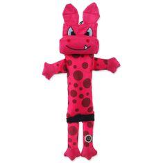 BeFUN igrača za psa ROBBOT, majhna, roza, 38 cm
