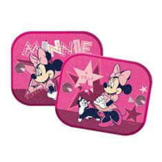 Kaufmann Tienidlá do auta 2 ks v balení Minnie Mouse ružová Ružová