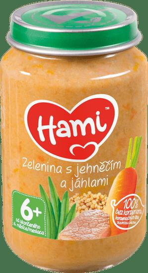 Hami Zelenina s jahňacím a pšeno - 6 x 200g