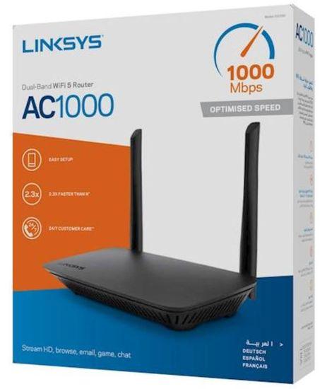 Linksys E5350, AC1000 brezžični WiFi usmerjevalnik