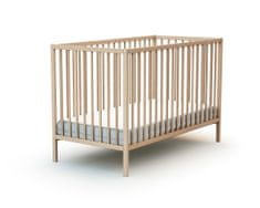 AT4 otroška postelja WEBABY, 60x120 cm, nelakirana