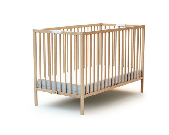 AT4 łóżeczko dziecięce składane Webaby 60x120 cm