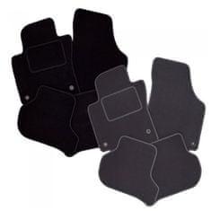 Vopi Textilní autokoberce Opel Adam 2013-2019, barva koberce: černá, barva obšití: černé