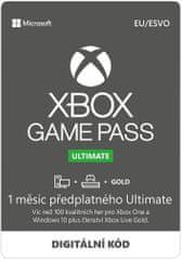 Microsoft Game Pass Ultimate - předplatné na 1 měsíc (QHW-00008)