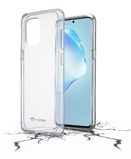 CellularLine Clear Duo ovitek za Samsung Galaxy S20+, prozoren