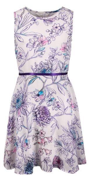 Happy Girls dívčí šaty 164 fialová