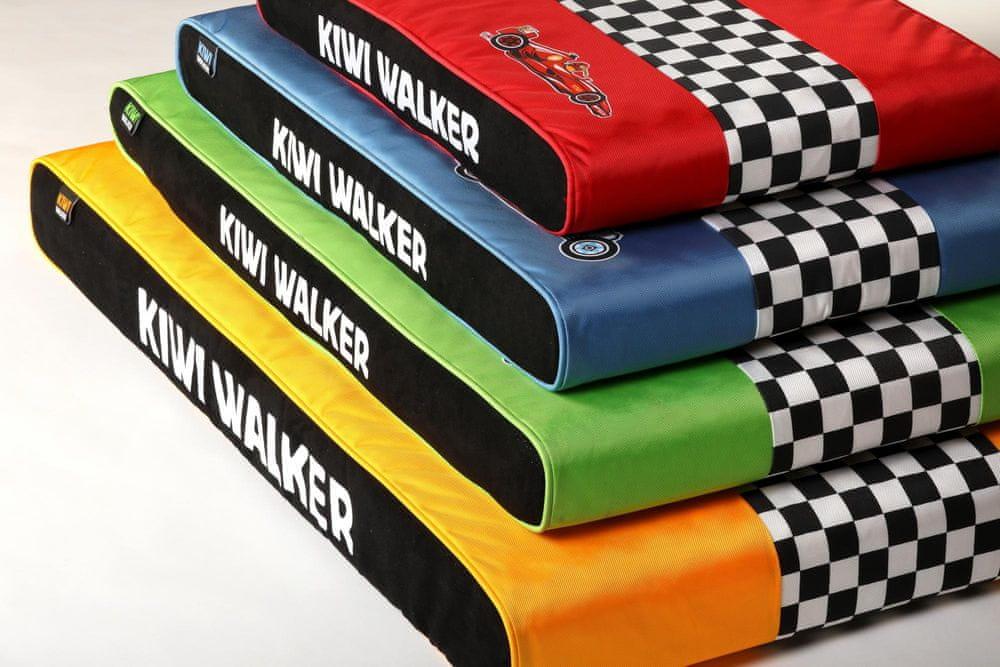 KIWI WALKER Racing Bugatti ortopedická matrace XL, modrá
