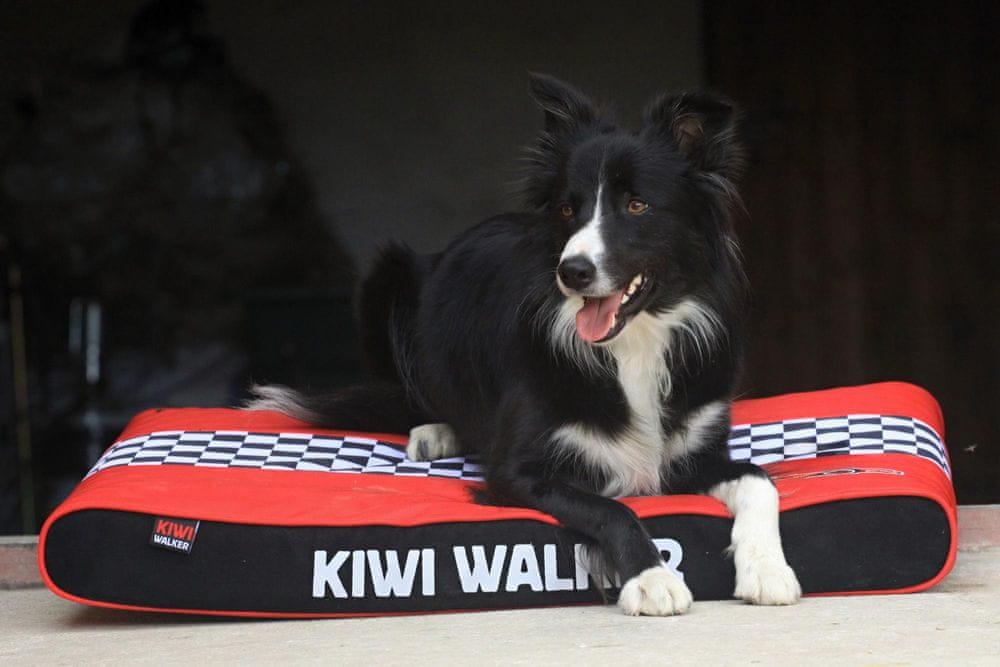 KIWI WALKER Racing Formula ortopedická matrace L, červená