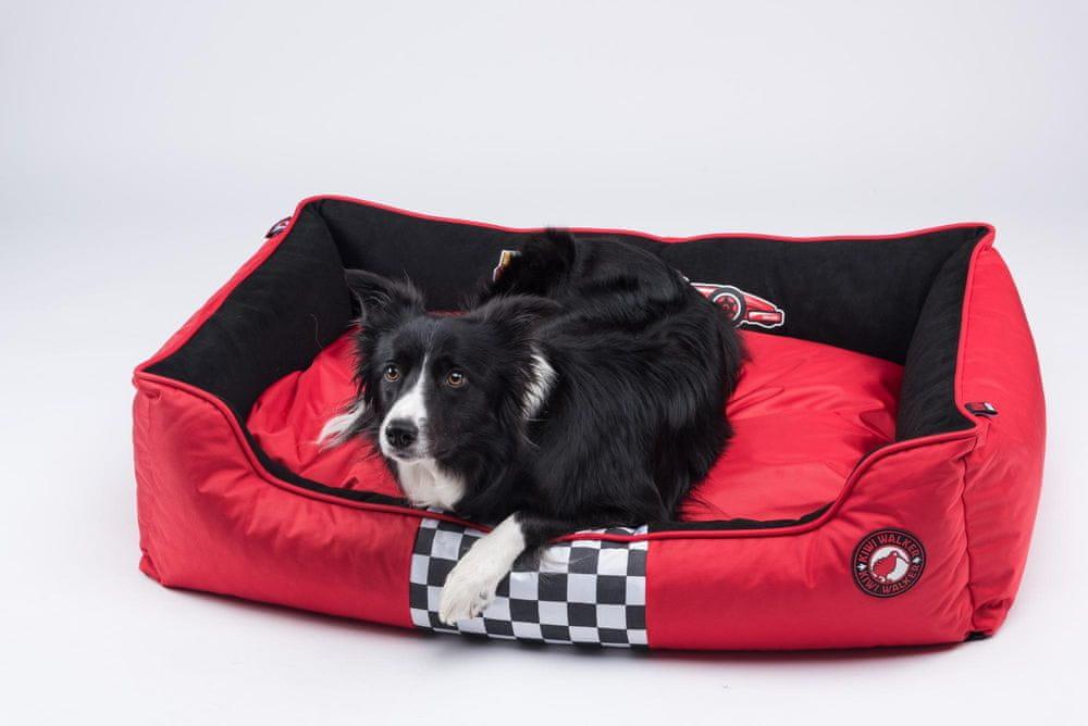 KIWI WALKER Racing Formula pelech z ortopedické pěny M, červená