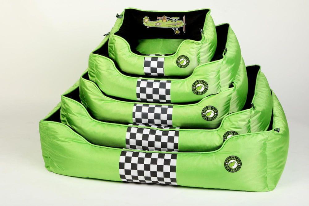KIWI WALKER Racing Aero pelech z ortopedické pěny L, zelený
