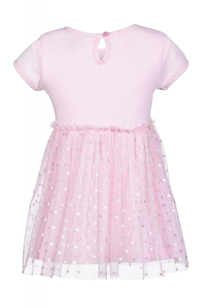 Happy Girls dívčí šaty 74 růžová
