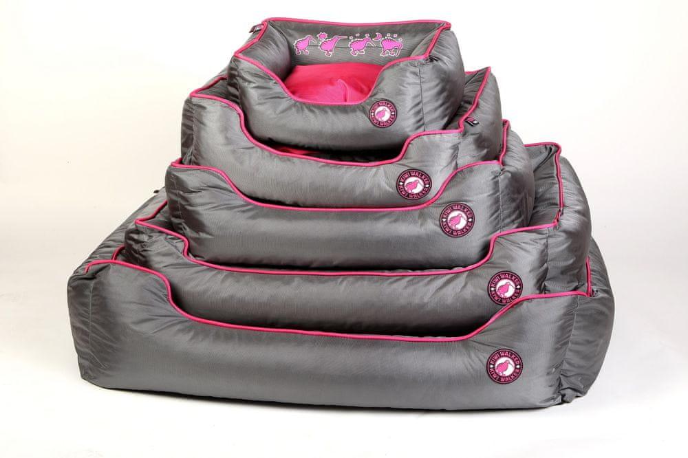 KIWI WALKER pelech Running z ortopedické pěny XL, růžový