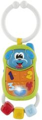Chicco Hryzátko elektronické na C-krúžku Telefón psík