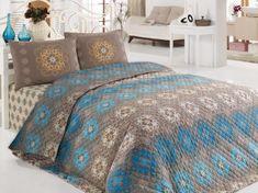 Eponj Home prikrývka na posteľ Ornamenty 240x220 cm