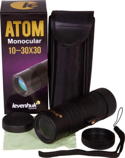 Levenhuk Atom 10-30x30 Monokulár