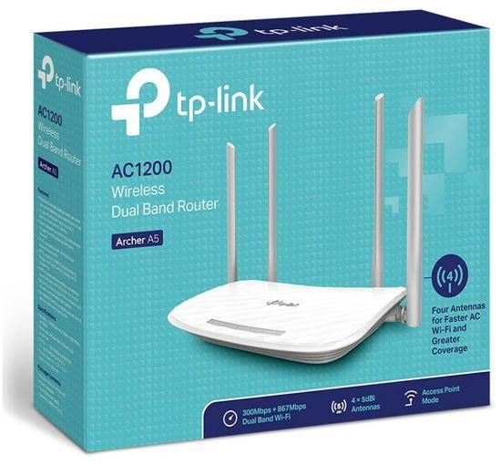 TP-Link Archer A5, AC1200, Dual Band bežični Wi-Fi usmjerivač