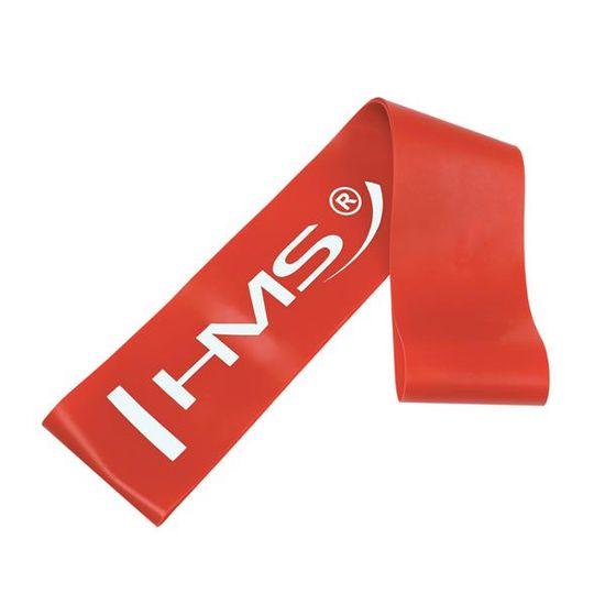 HMS fitness guma GU04, červená