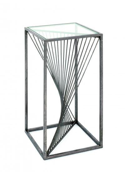 Mørtens Furniture Odkladací stolík Arlet, 60 cm, bronz
