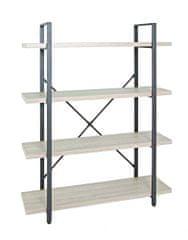 Mørtens Furniture Regál so 4 policami Osten, 105 cm