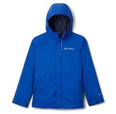 COLUMBIA kurtka wodoodporna chłopięca Watertight 116 niebieska