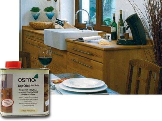 OSMO Top Olej - na kuchynské pracovný dosky 0,5l agát 3061 (13900072)