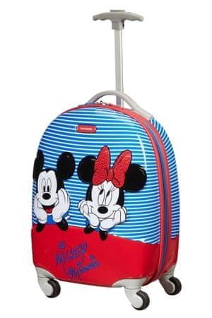 Samsonite Kufr dětský Disney Ultimate 2.0 Spinner 46/32 Cabin Minnie/Mickey Stripes
