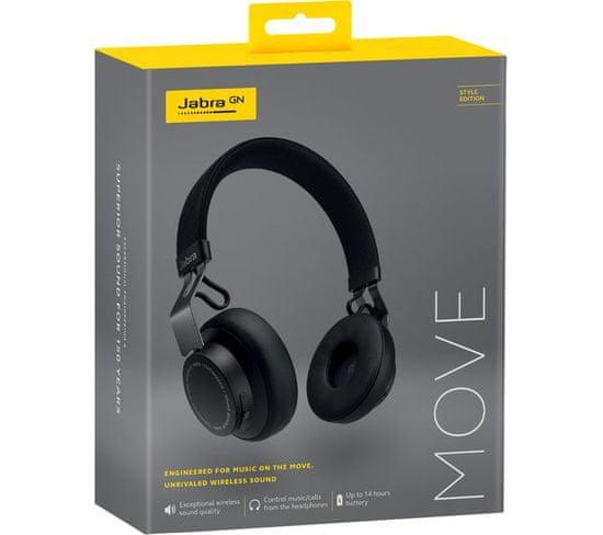 Jabra Move Style Edition brezžične slušalke, črne