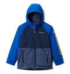 COLUMBIA kurtka chłopięca wodoodporna Dalby Springs Jacket 116 niebieska