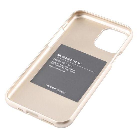 Goospery Jelly ovitek za iPhone 11 Pro, tanek, silikon, zlat