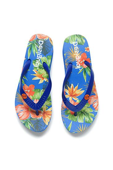Desigual Női flip-flop papucs Shoes Azul 20SSHP05 5099