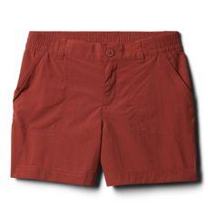 Columbia Silver RidgeIV dekliške kratke hlače, rjave, 140