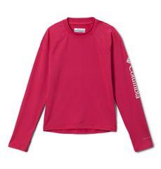 Columbia Columbia Sandy Shores dekliška majica, z UPF 50, roza, 128