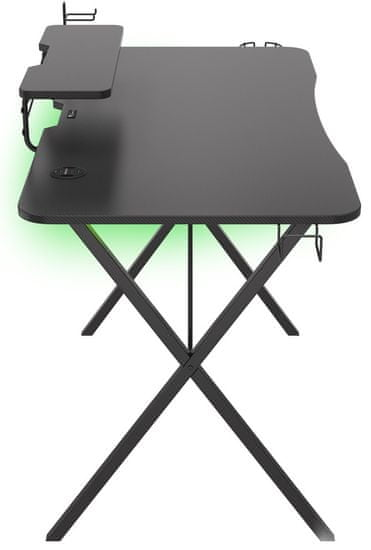 Genesis Holm 300 RGB gaming miza