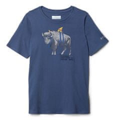 Columbia Columbia Peak Point fantovska majica, modra, 152