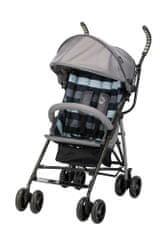 BOMIMI wózek spacerowy BEFI stripe/grey