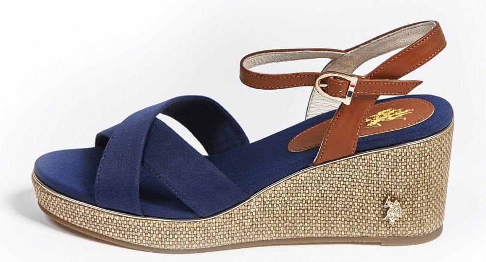 U.S. Polo Assn. dámské sandály MADELYN 4088S0/CY1 35 tmavě modrá
