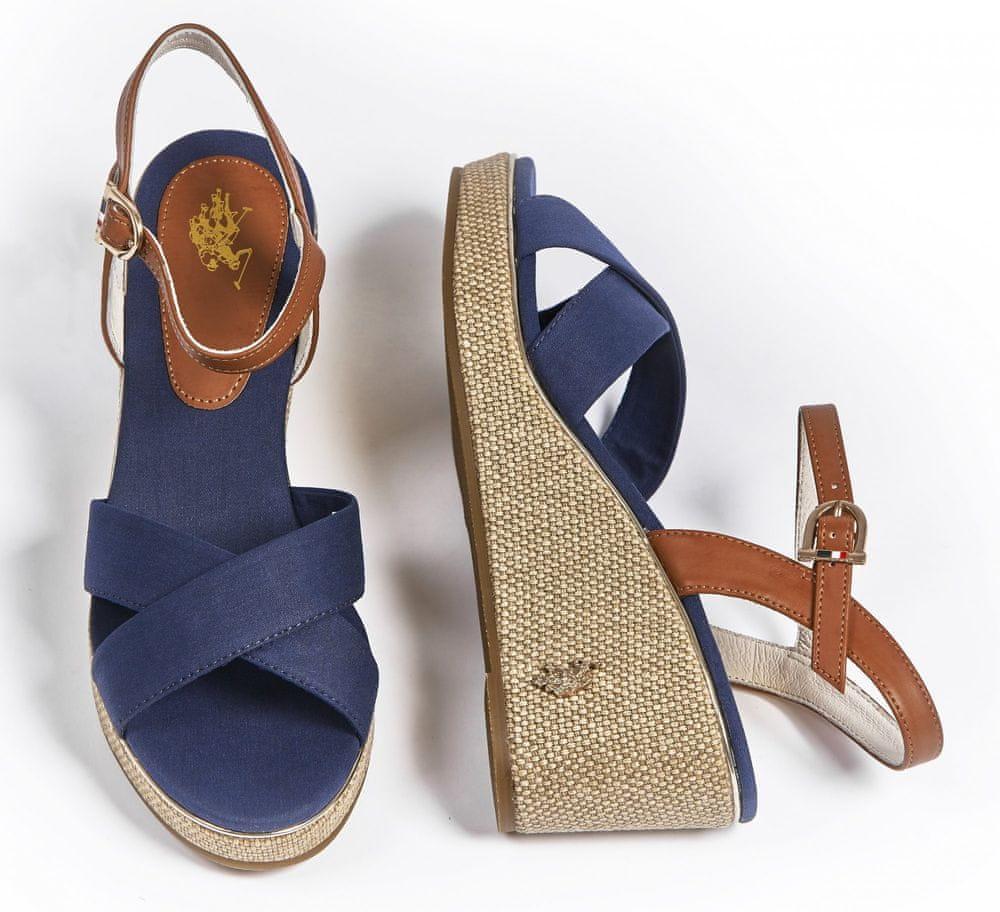 U.S. Polo Assn. dámské sandály MADELYN 4088S0/CY1 39 tmavě modrá