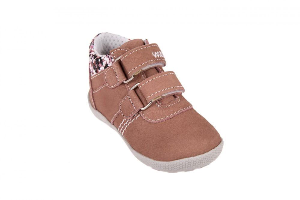Medico Dívčí kožená obuv EX5001/M60 25 růžová