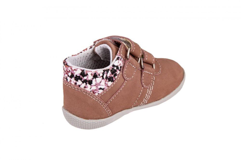 Medico Dívčí kožená obuv EX5001/M60 24 růžová