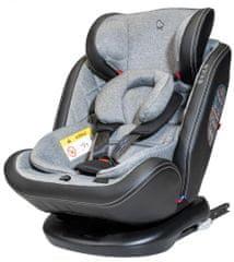 BOMIMI Roto Fix 360° otočná autosedačka 0123 grey melange