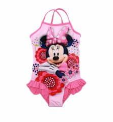 """SETINO Dekliške enodelne kopalke """"Minnie Mouse"""" - roza - 128 / 7–8 let"""