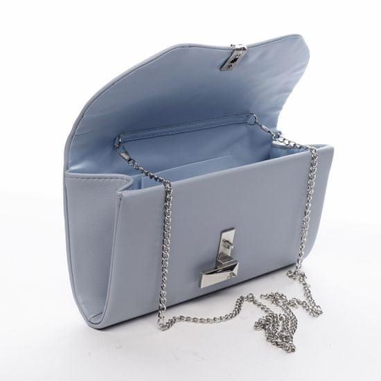Michelle Moon Desingové dámské koženkové psaníčko Germaine modrá